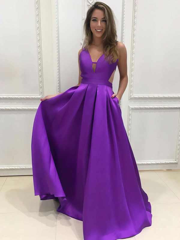 Purple Prom Dresses UK, Cheap Dark & Light Purple Prom Gowns Sale