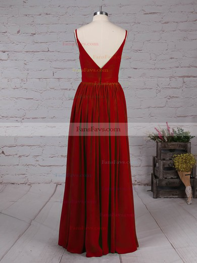 A-line V-neck Chiffon with Sashes / Ribbons Prom Dress #Favs020105036