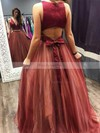 Princess V-neck Tulle with Beading Prom Dress #Favs020105848