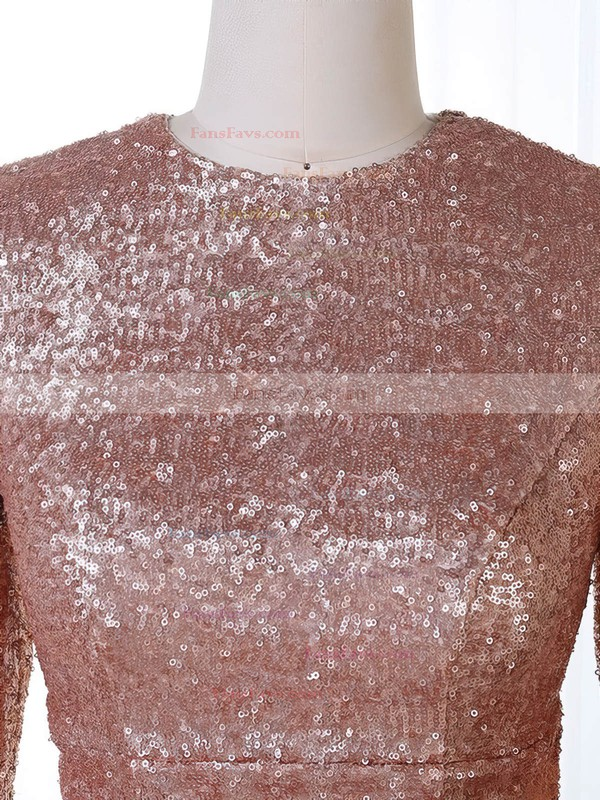 Trumpet/Mermaid Scoop Neck Sequined Prom Dresses #Favs020106201