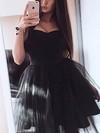 Princess Sweetheart Tulle Short/Mini Prom Dresses #Favs020106302