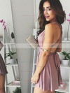 A-line V-neck Jersey Short/Mini Prom Dresses #Favs020106316