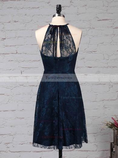 Sheath/Column Scoop Neck Lace Short/Mini Prom Dresses #Favs020105902